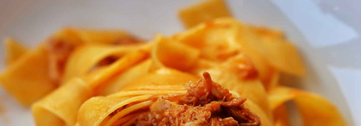 Pappardelle Strascicate